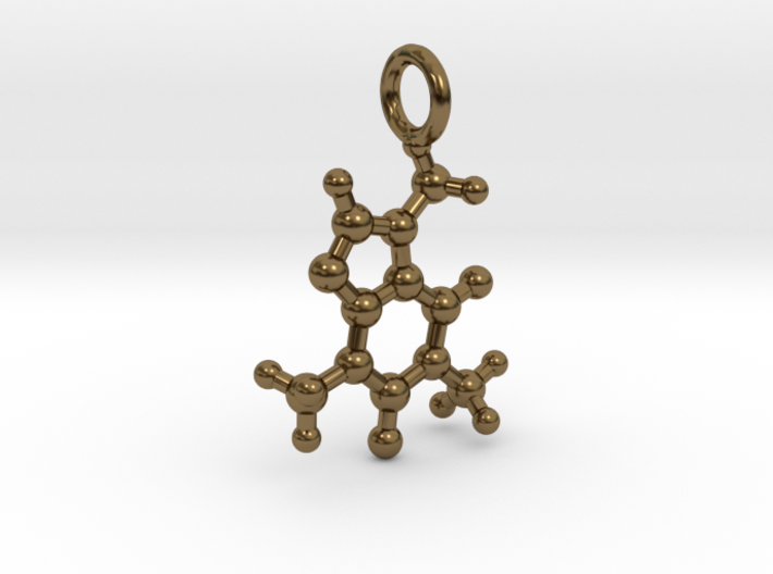 Caffeine BAS With Ring 3d printed
