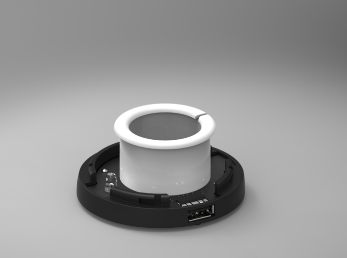 WireWrap Cylinder Of The SmartDock  for AppleWatch 3d printed