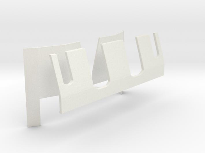 1/48 40mm Quad Bofors Shield 3d printed