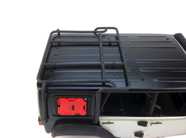 AJ10013 Modular Exo Cage 3d printed Shown fitted to the Axial JK SCX10 (Sold Separately)