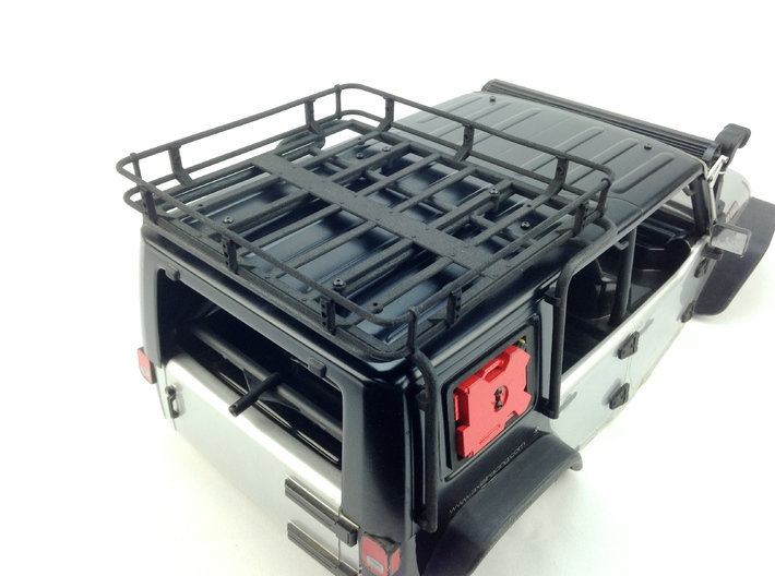 AJ10013 Modular Exo Cage 3d printed Shown fitted with the Roof Basket (Sold separately)