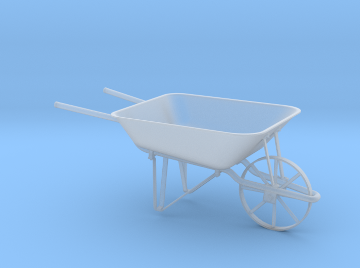 Wheelbarrow 3d printed
