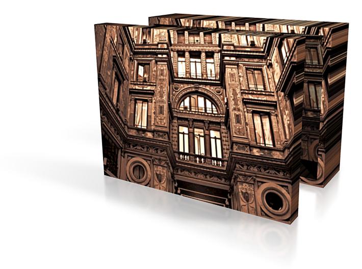 Roman Courtyard Box 3in 3d printed