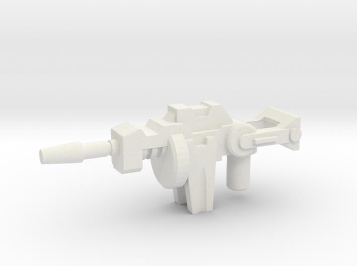 Kickback's Gun, 5mm 3d printed