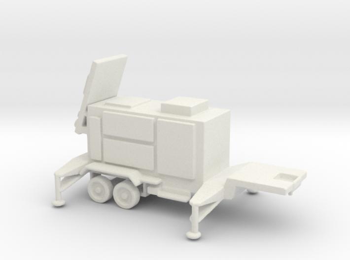 1/110 Scale Patriot Missile Radar Trailer 3d printed