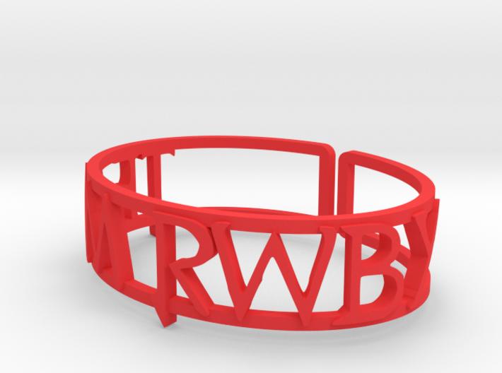 Custom Team RWBY Cuff 3d printed