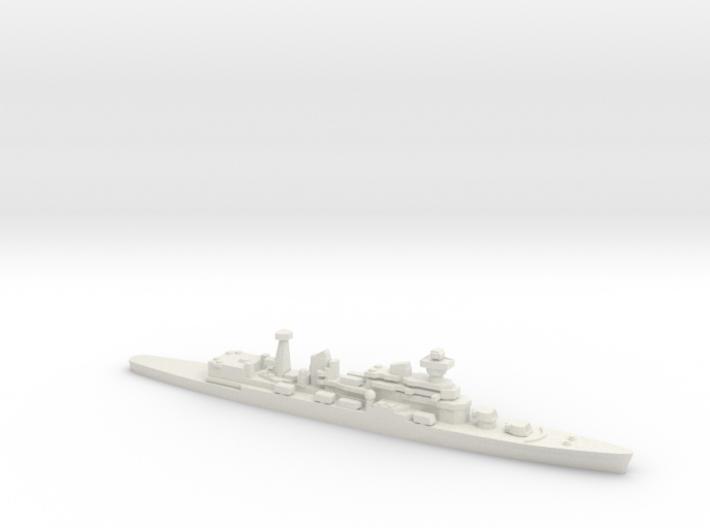 Cruiser Admiral Senyavin (1971), 1/2400 3d printed