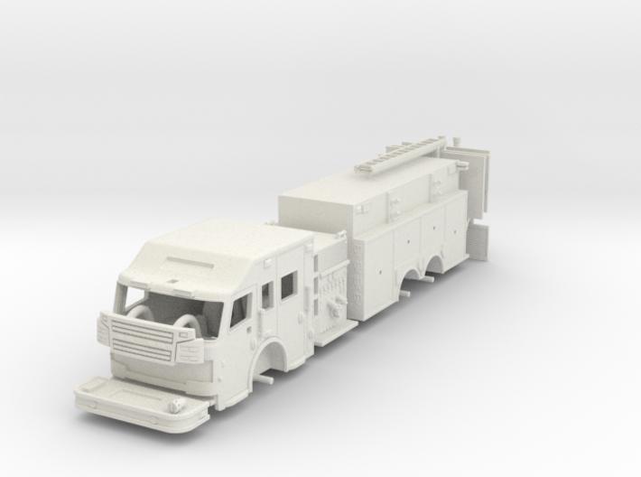 Rosenbauer 1/64 Pumper Tanker Raised Roof 3d printed