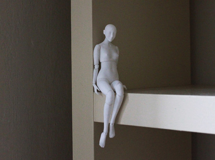 Ball Jointed Doll (One Piece Head) 3d printed