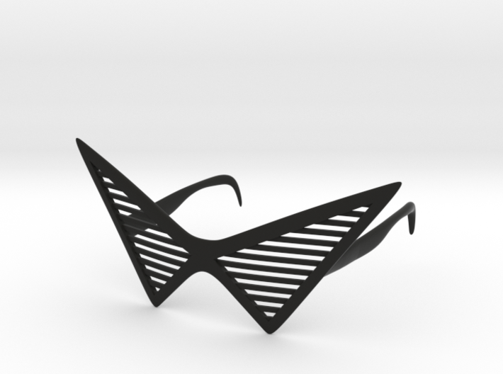 Triangle Glasses 3d printed