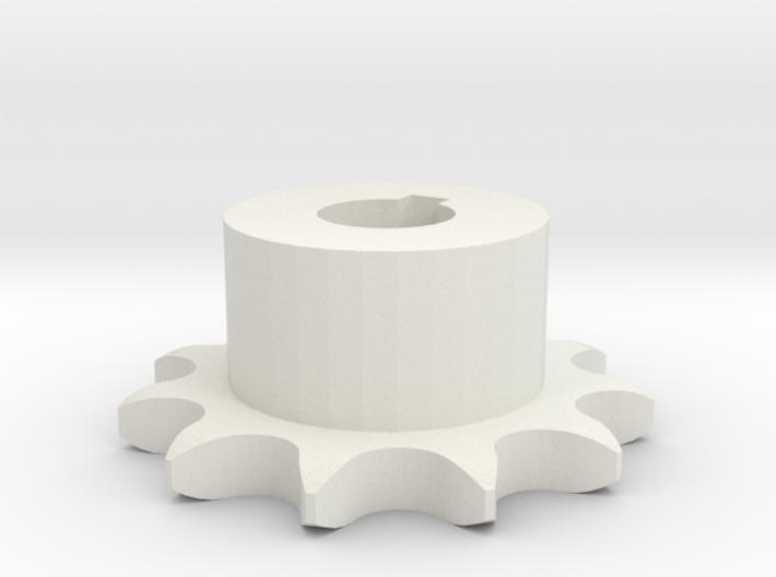 Pignone Per Catena Semplice ISO 04B-1 P6 Z11 3d printed