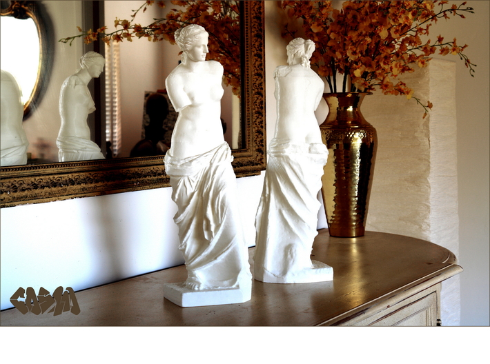 "Venus de Milo (4.8"" tall) 3d printed Venus de Milo (19.4"" version shown)"