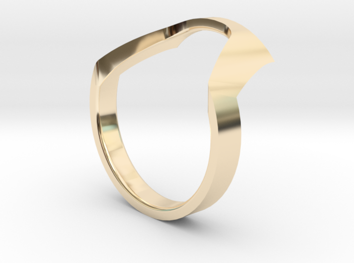 Static Ring - SIZE 7 3d printed
