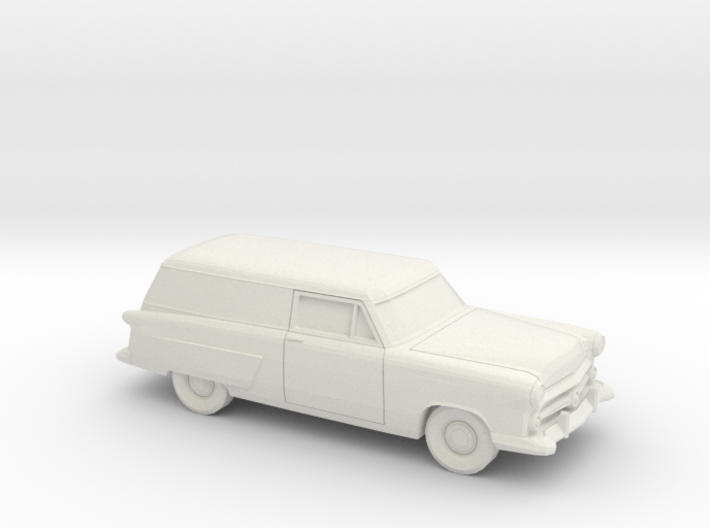 1/87 1952 Ford Courier Sedan Delivery 3d printed