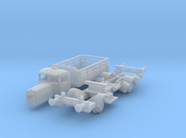 Henschel 6J1 Schienen-LKW (N 1:160) 3d printed