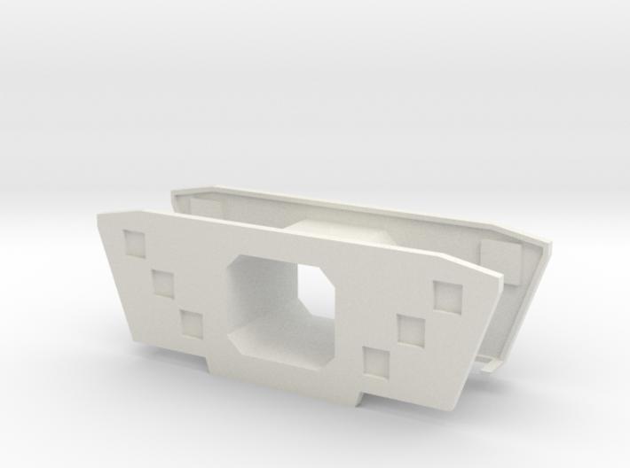HO/1:87 Precast concrete bridge segment fill (wide 3d printed
