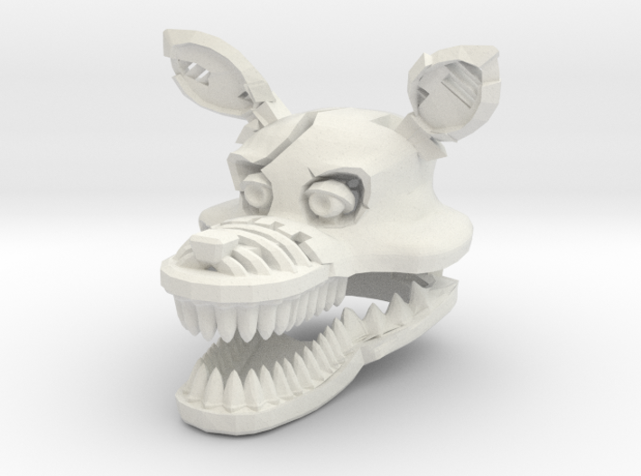 Custom Scary Wolf 3d printed