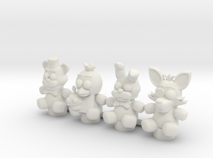 Custom Stuffed Animals 3d printed
