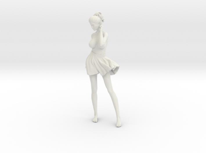 Miniskirt Girl 010-1/10 3d printed