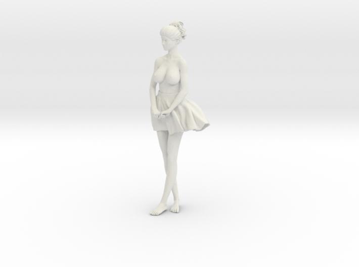 Miniskirt Girl 008-1/10 3d printed
