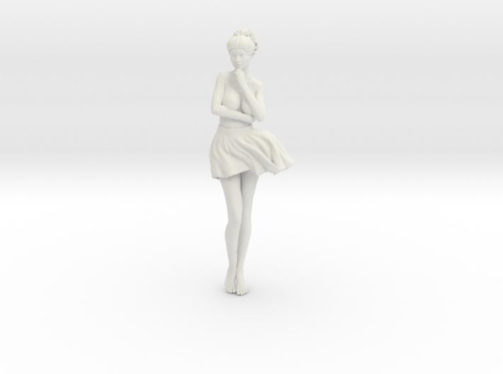 Miniskirt Girl 023-1/10 3d printed