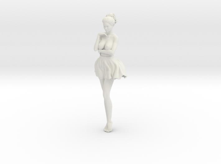 Miniskirt Girl 024-1/10 3d printed