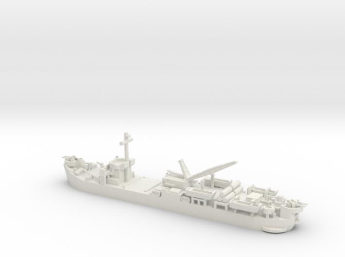 1/700 Scale USS Laysan Island 3d printed