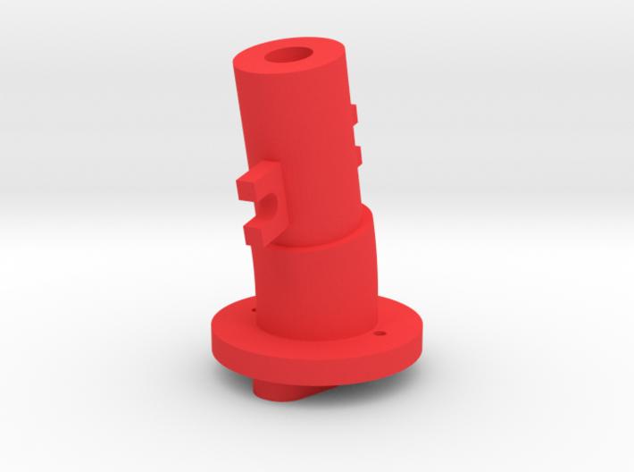 Thrustmaster joystick tailpiece, 13 deg. angle 3d printed