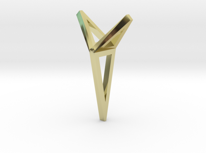 YOUNIVERSAL 3T Origami, Pendant 3d printed