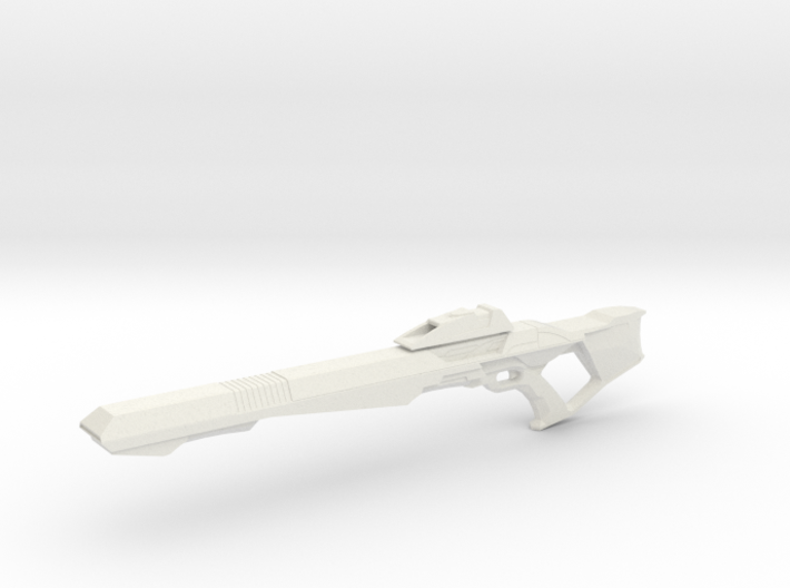 Phaser Rifle (Star Trek First Contact), 1/6 3d printed
