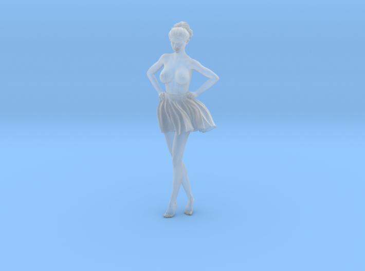1/24 Miniskirt Girl 007 3d printed