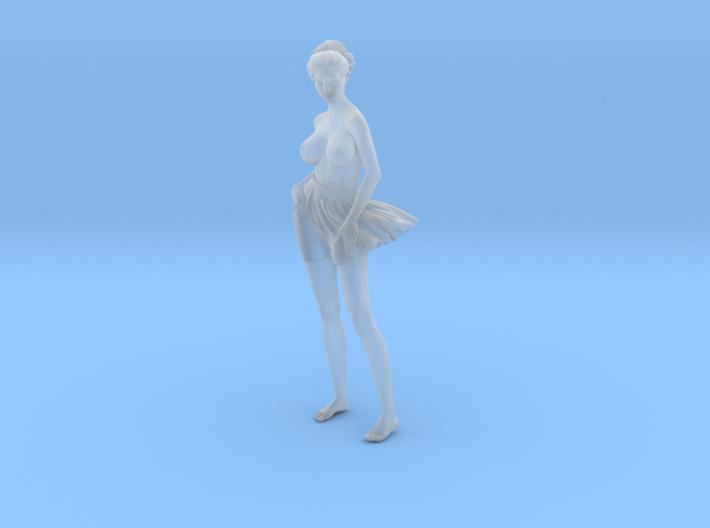 1/24 Miniskirt Girl 013 3d printed