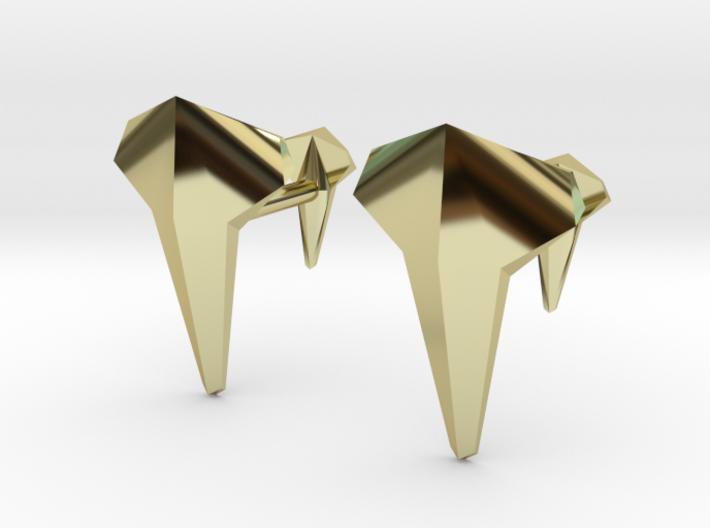 AERO Cufflinks 3d printed