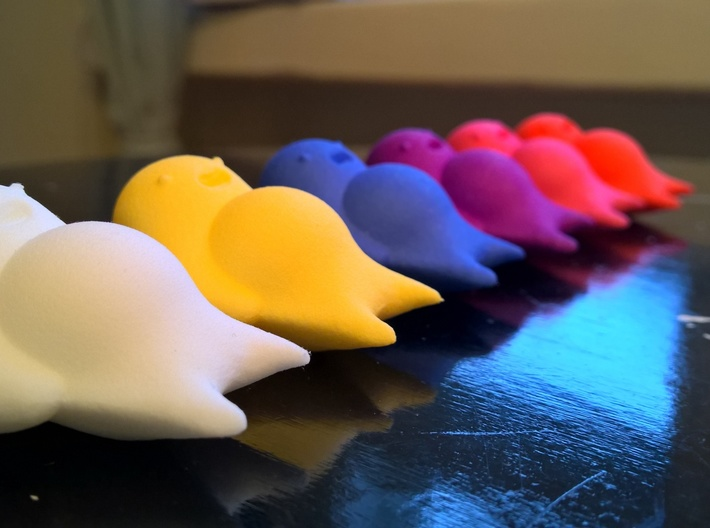 Cute Lazy Sleeping Creature 3d printed Collect them all!