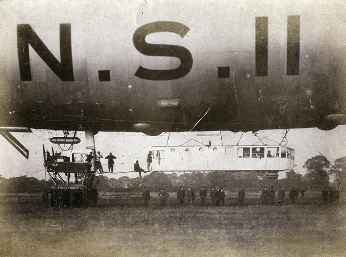 North Sea Class NS11 3d printed NS 11 and her crew at rest, photo: the Lewry Collection