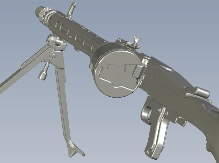 1/15 scale WWII Wehrmacht MG-42 drum magazine x 5 3d printed