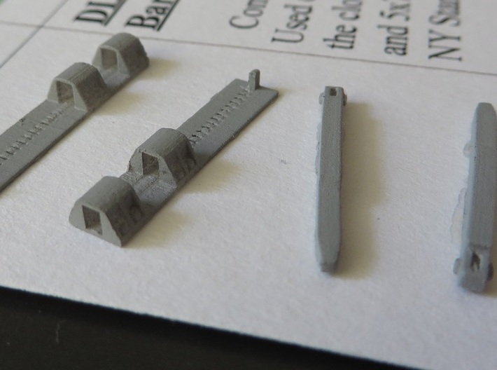 Lackawanna Style Float Bridge Toggle Assembly 3d printed