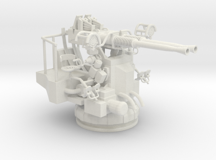 Best Cost 1/32 40mm Bofors Twin Mount 3d printed