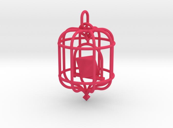 Platonic Birds - Octahedron 3d printed