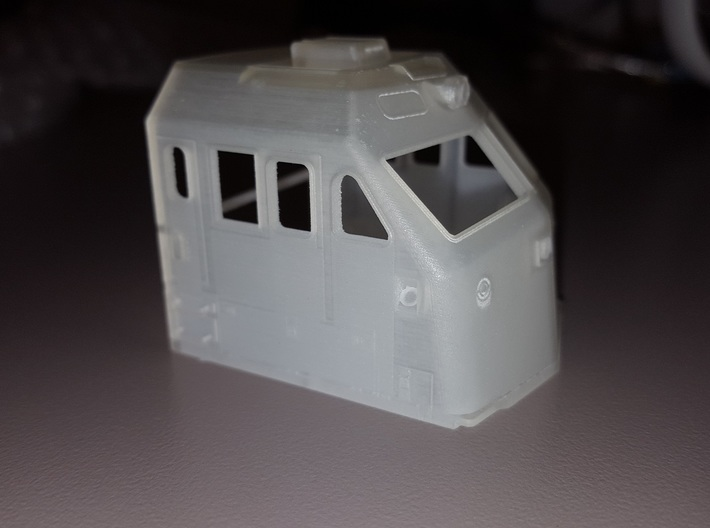 HO F69PH-AC Cab for Kato F40PH 3d printed Side view of cab in FUD