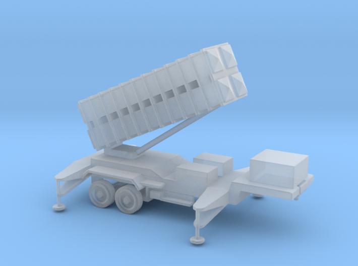 1/144 Scale Patriot Missile Launcher Trailer 3d printed