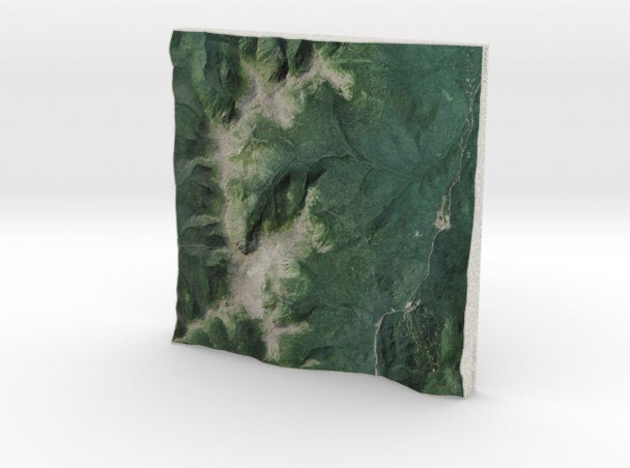 Mt. Washington, NH, USA, 1:50000 Explorer 3d printed
