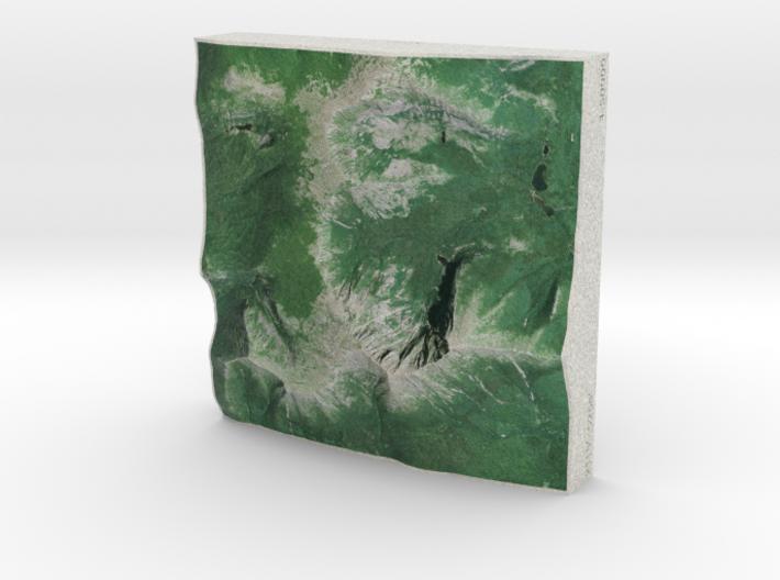 Mt. Katahdin, Maine, USA, 1:50000 Explorer 3d printed
