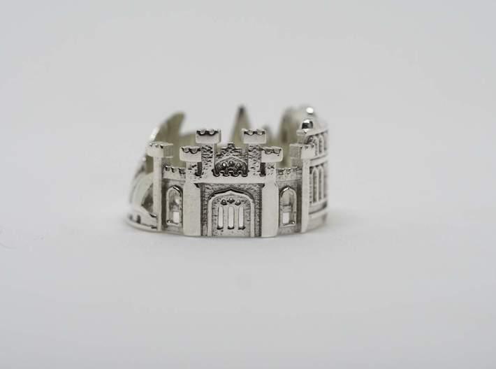 Sydney Ring - City Ring 3d printed