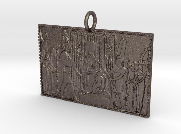 Isis/Horus Pendant 3d printed