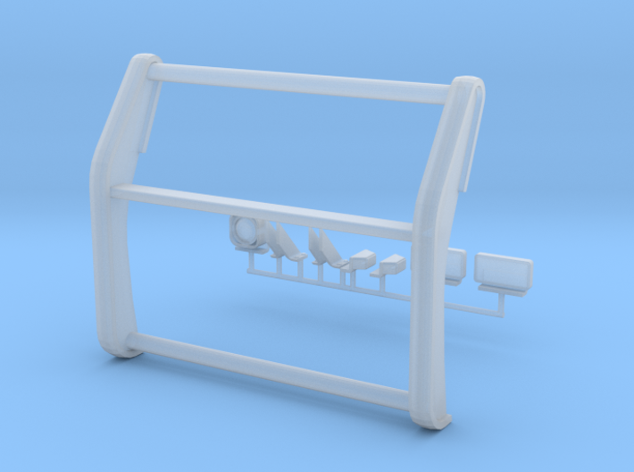 1/24 Interceptor Pushbar 3d printed
