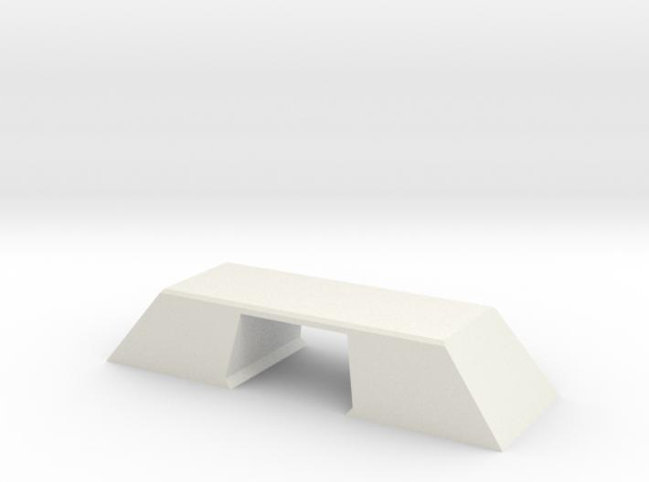 N Scale Bridge Modern Double Double 1:160 3d printed