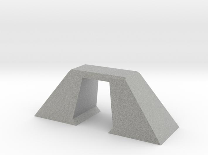 N Scale Bridge Modern Single Small 1:160 3d printed