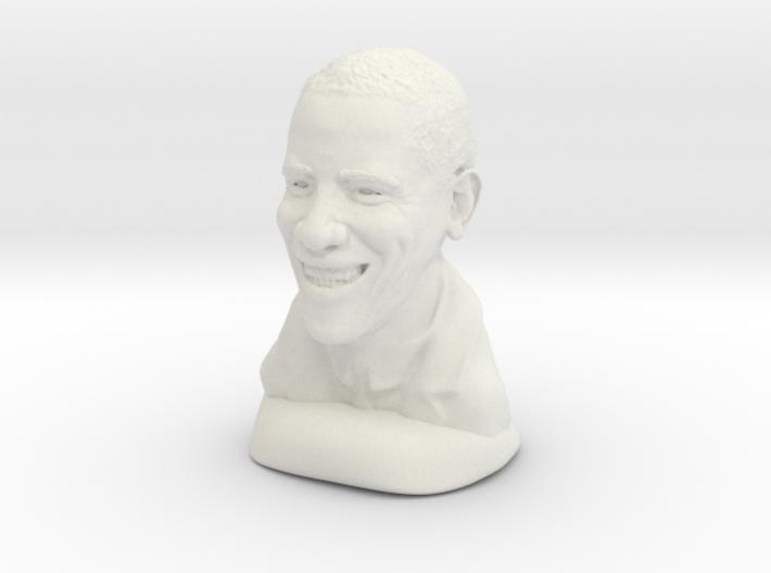 Barack Obama 3d printed