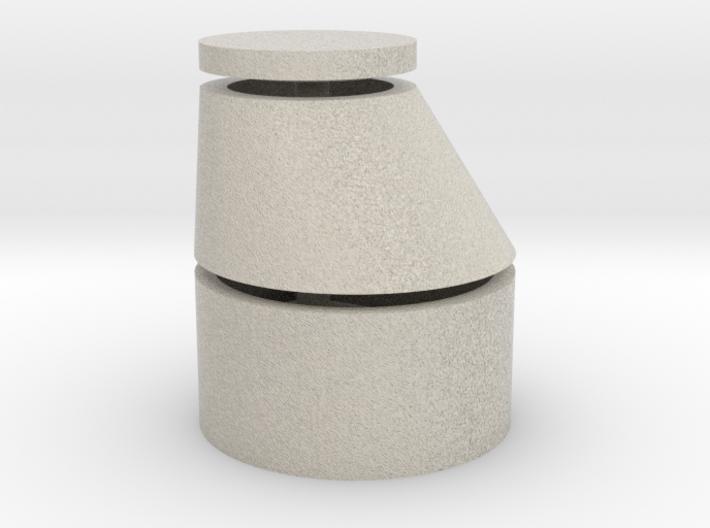 Revischacht Sandstein 3d printed